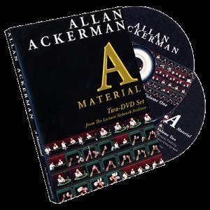A MATERIAL – 2 DISC SET BY ALLAN ACKERMAN ON DVD